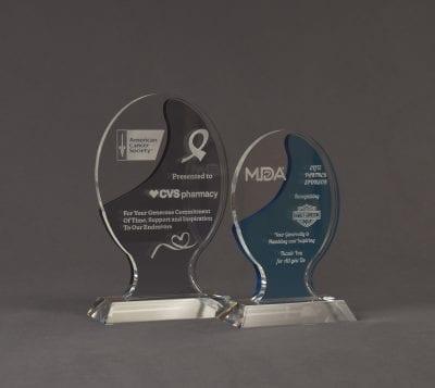 Illuminate Nebulous Acrylic Award