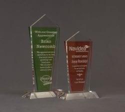 Flash Nebulous Acrylic Award