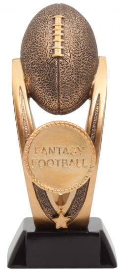 Gold Fantasy Football Trophy